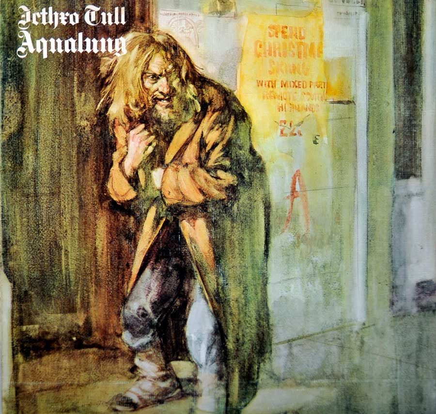 Front Cover Photo Of Jethro Tull - Aqualung