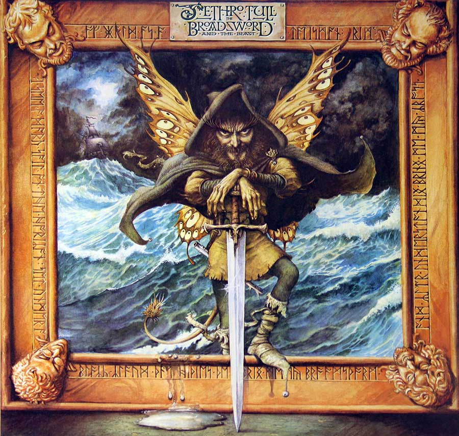"Jethro Tull - Broadsword & the Beast European Release 12"" Vinyl LP   front cover https://vinyl-records.nl"