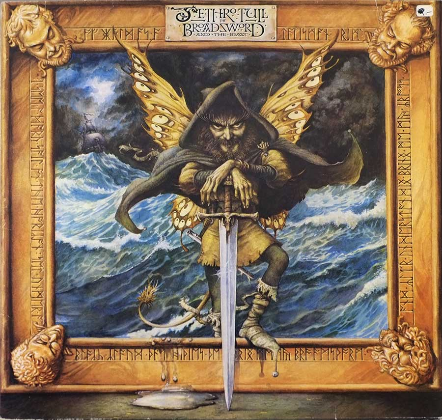 "Front Cover Photo Of JETHRO TULL Broadsword And The Beast Germany/Netherlands 12"" LP ALBUM VINYL"