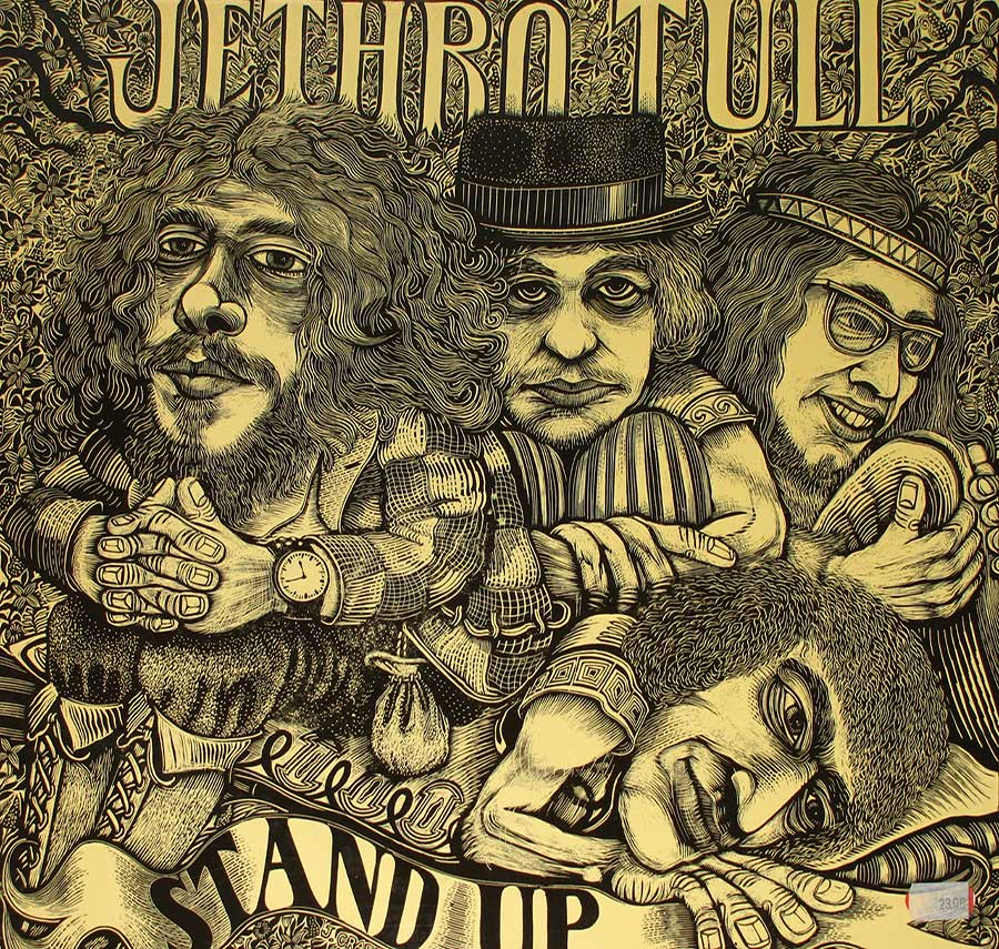 "Front Cover Photo Of JETHRO TULL - Stand Up Pop-Up Gatefold 12"" LP Vinyl Album"