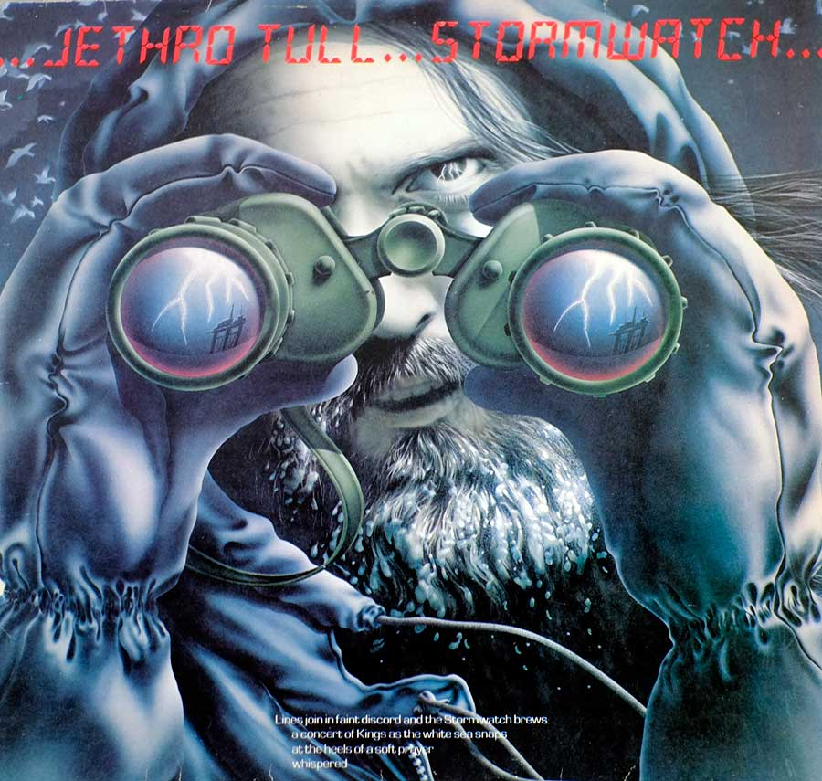 Front Cover Photo Of JETHRO TULL - Storm Watch ( UK )