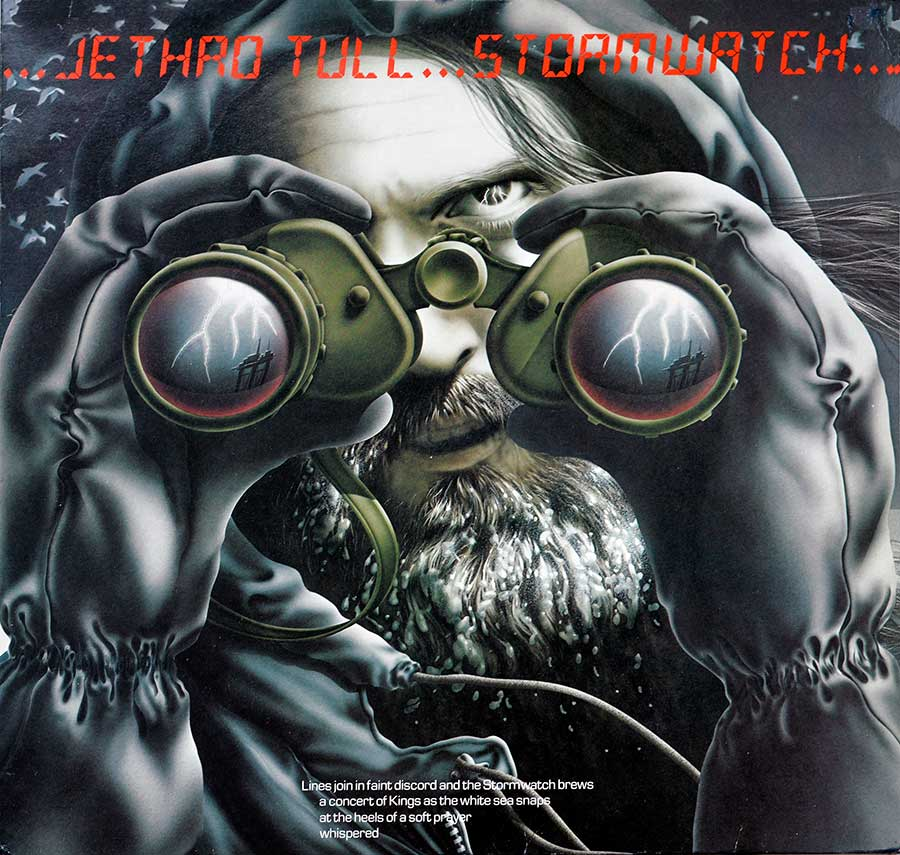 Photo of album front cover JETHRO TULL - Storm Watch ( Netherlands Release )