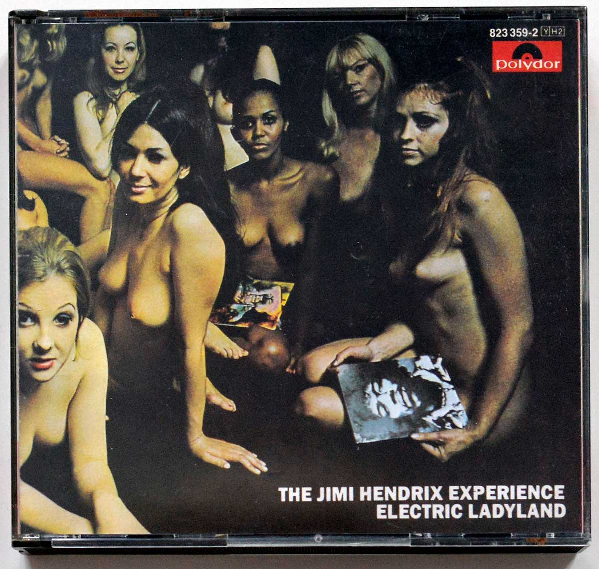 Album Front Cover Photo of THE JIMI HENDRIX EXPERIENCE - Electric Ladyland