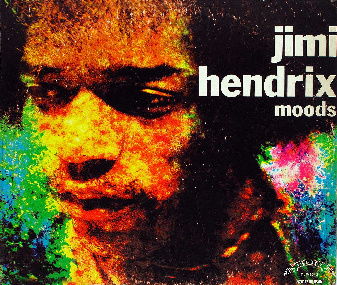 large photo of the album front cover of: Jimi Hendrix Moods