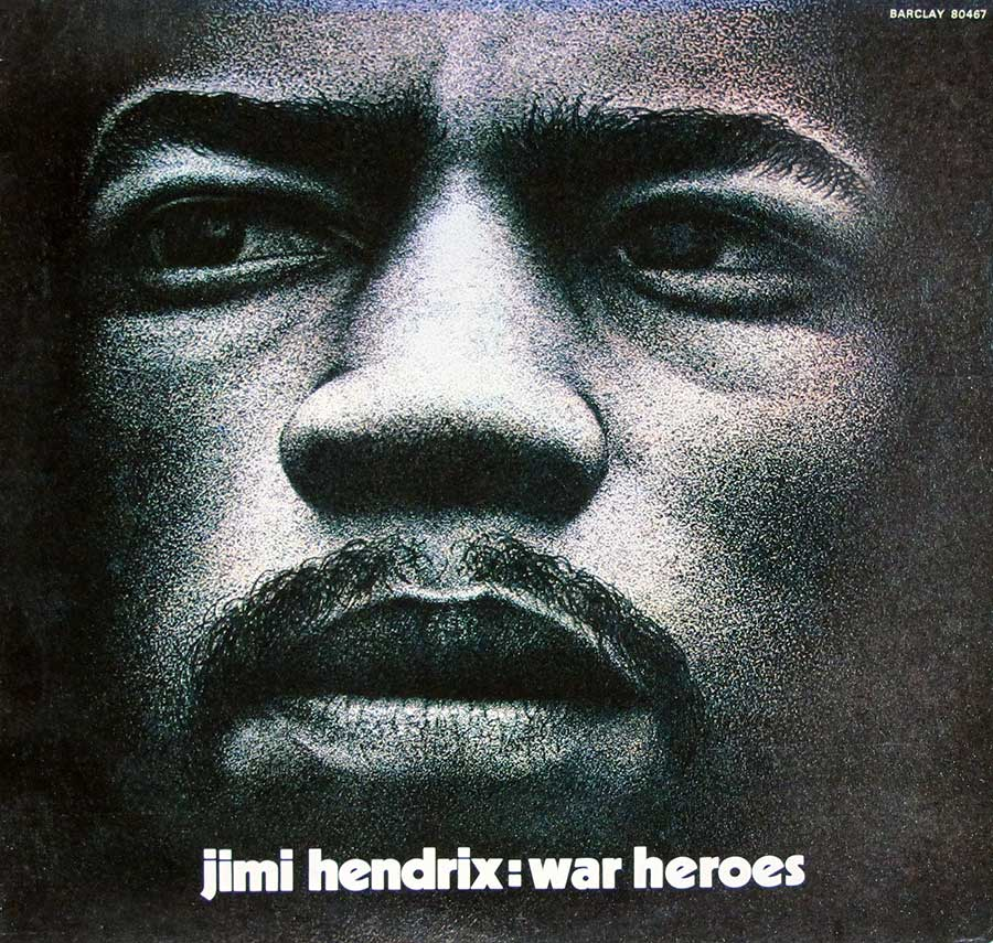 High Resolution Photo of jimi hendrix war heroes france barclay