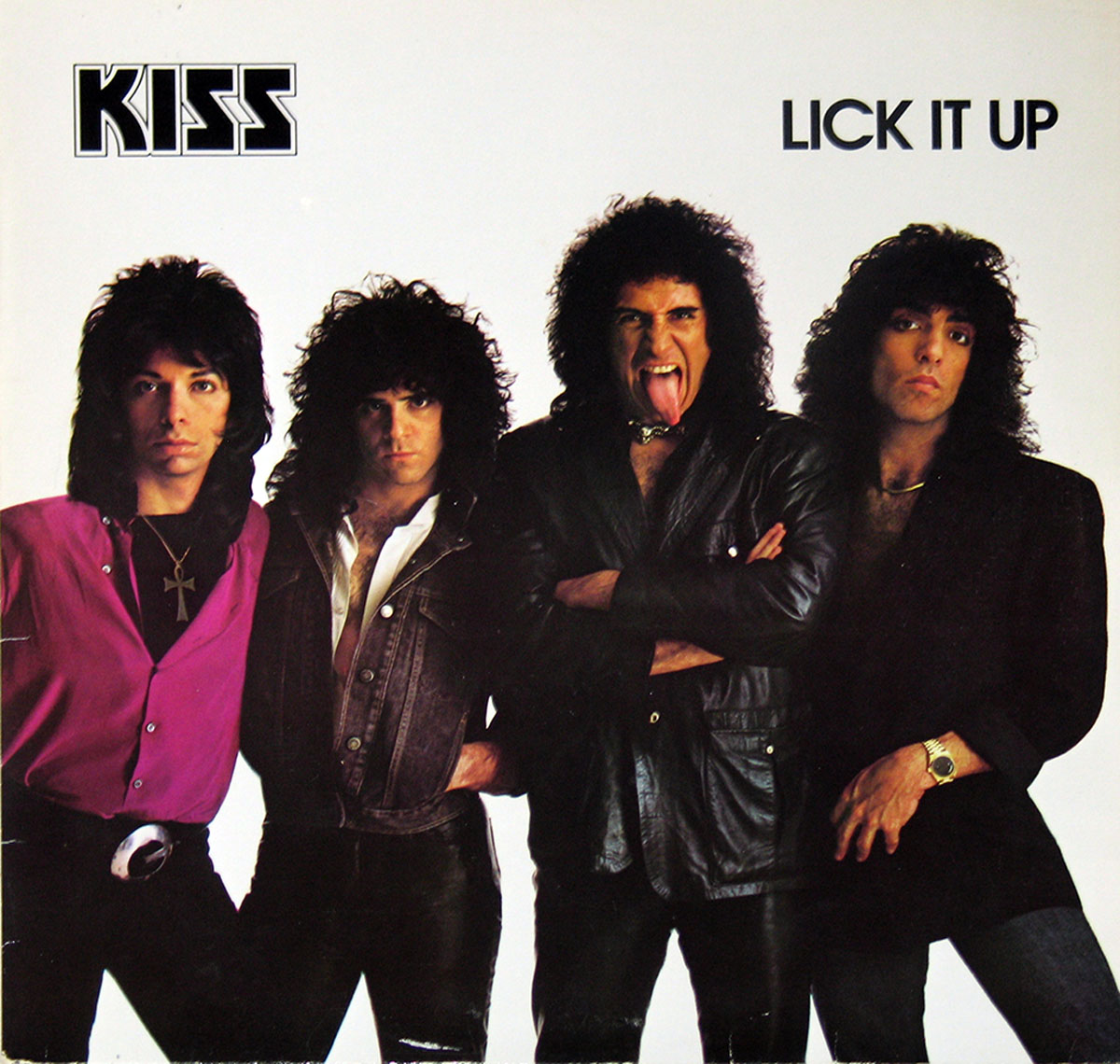 High Resolution #1 Photo KISS Lick it Up West-germany