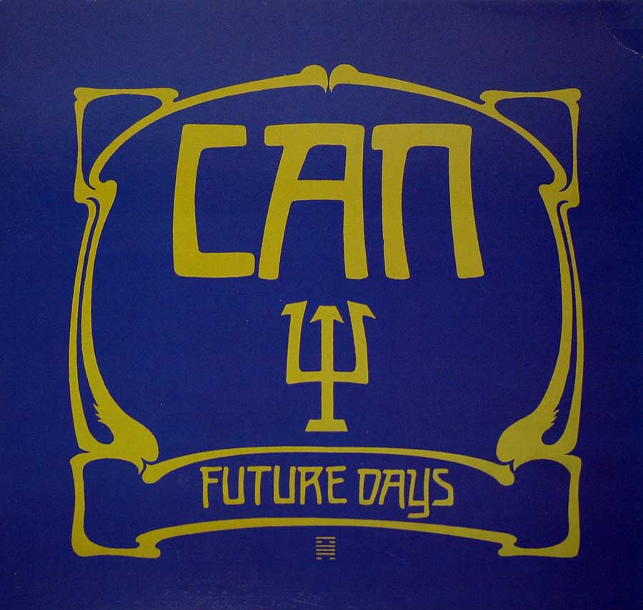 "CAN - Future Days UK England Pressing 12"" Vinyl LP Album   front cover https://vinyl-records.nl"