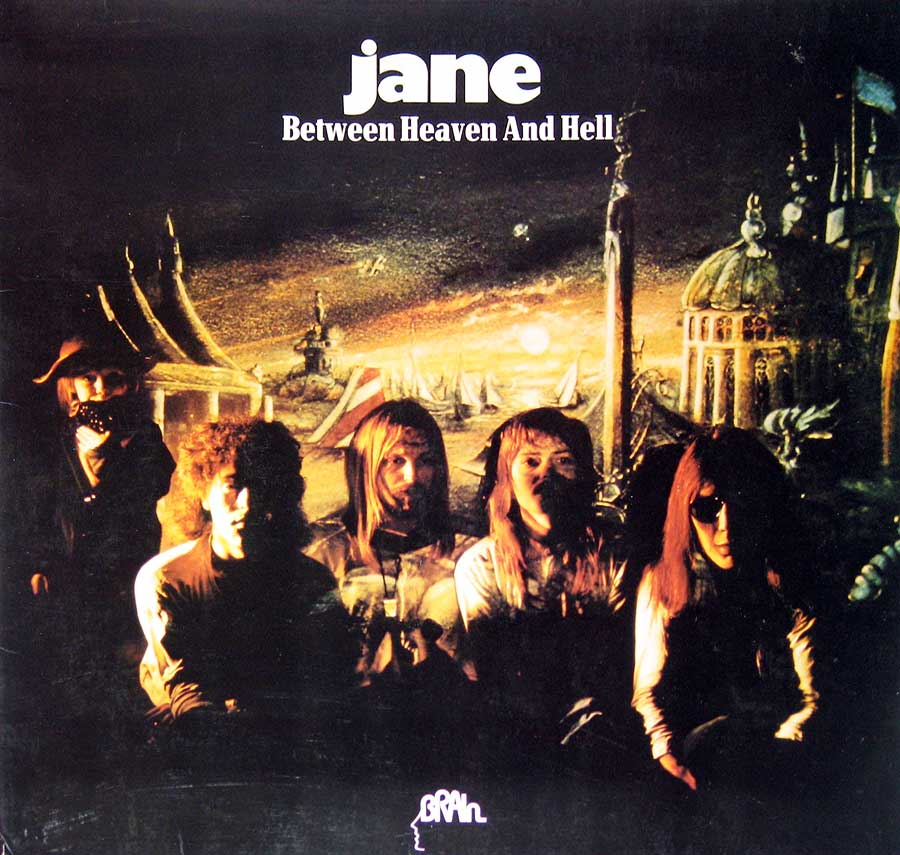Photo of the album front cover of Jane Between Heaven and Hell