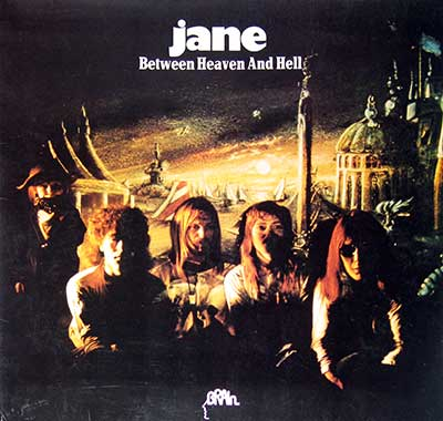 "Thumbnail of JANE - Between Heaven and Hell 12"" Vinyl LP album front cover"