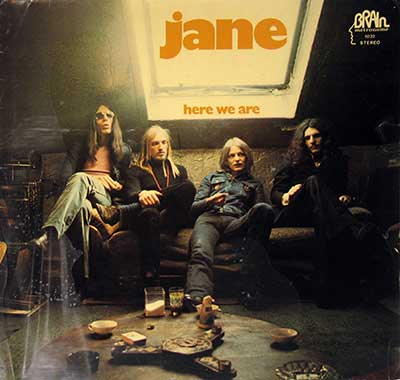"Thumbnail of JANE - Here We Are 12"" Vinyl LP Album album front cover"