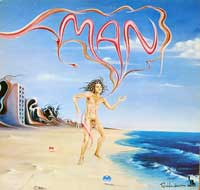 MAN - S/T Self-Titled Martin Ace Liberty Records