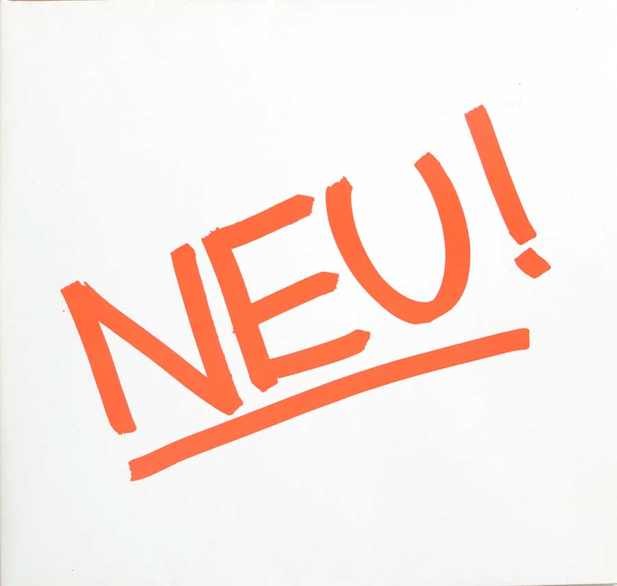 Front Cover Photo Of NEU! 1st Album White Vinyl Gatefold