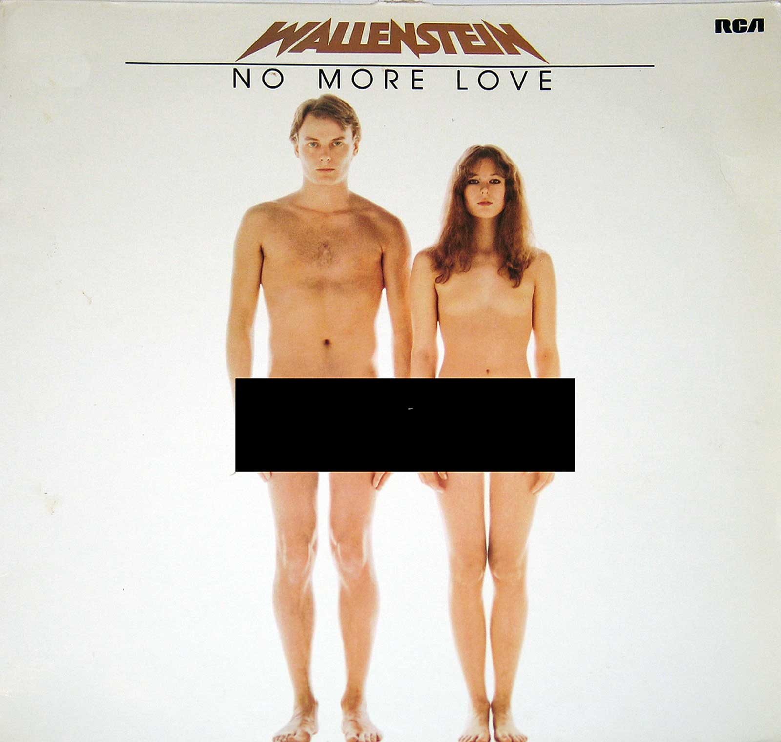 Album Front Cover of WALLENSTEIN NO MORE LOVE NUDITY