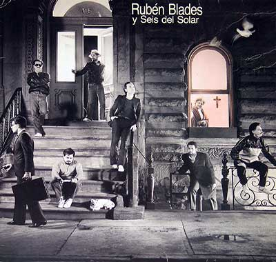 Thumbnail of RUBEN BLADES - Escenas with Linda Ronstadt & Joe Jackson  album front cover