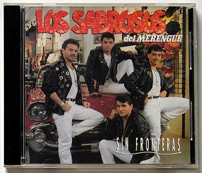 Picture Of  LOS SABROSOS DEL MERENGUE - Sin Fronteras album front cover