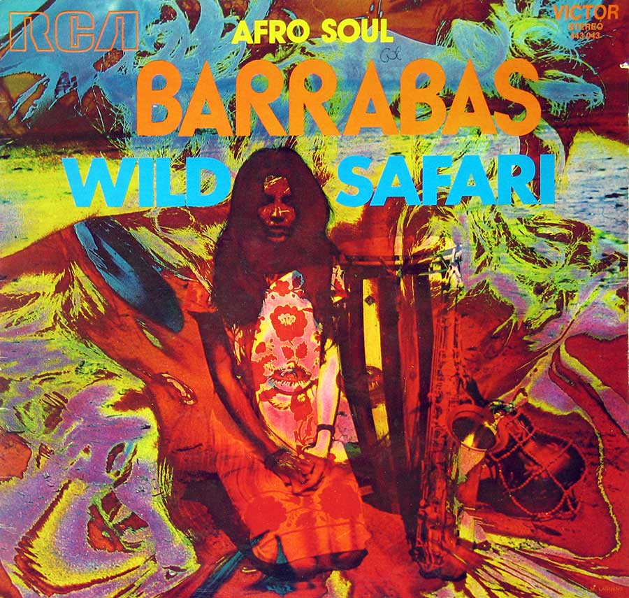 large photo of the album front cover of: Barrabas Wild Safari