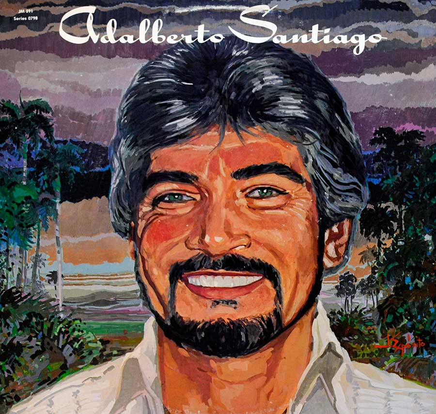 Front Cover Photo Of ADALBERTO SANTIAGO - S/T Self-Titled