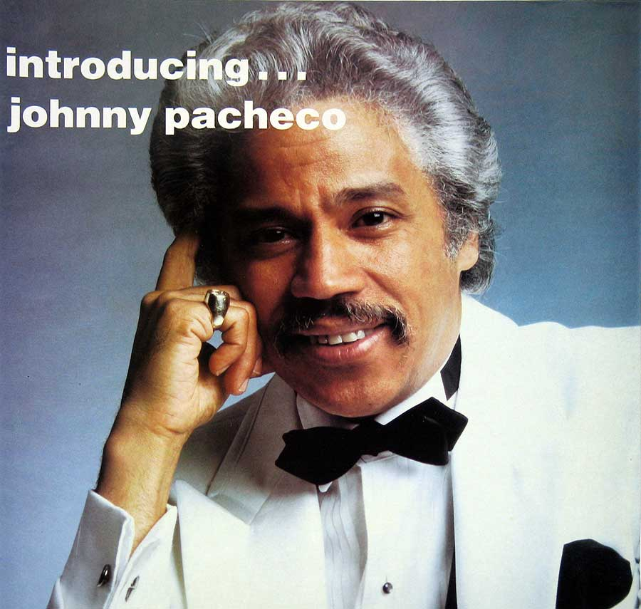 "JOHNNY PACHECO - Introducing JOHNNY PACHECO Caliente Records 12"" VINYL LP Album front cover https://vinyl-records.nl"