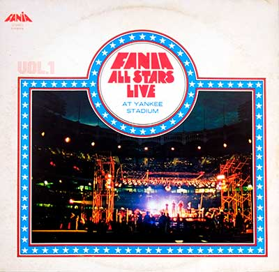 Thumbnail of FANIA ALL STARS - Live At Yankee Stadium Vol. 1 album front cover