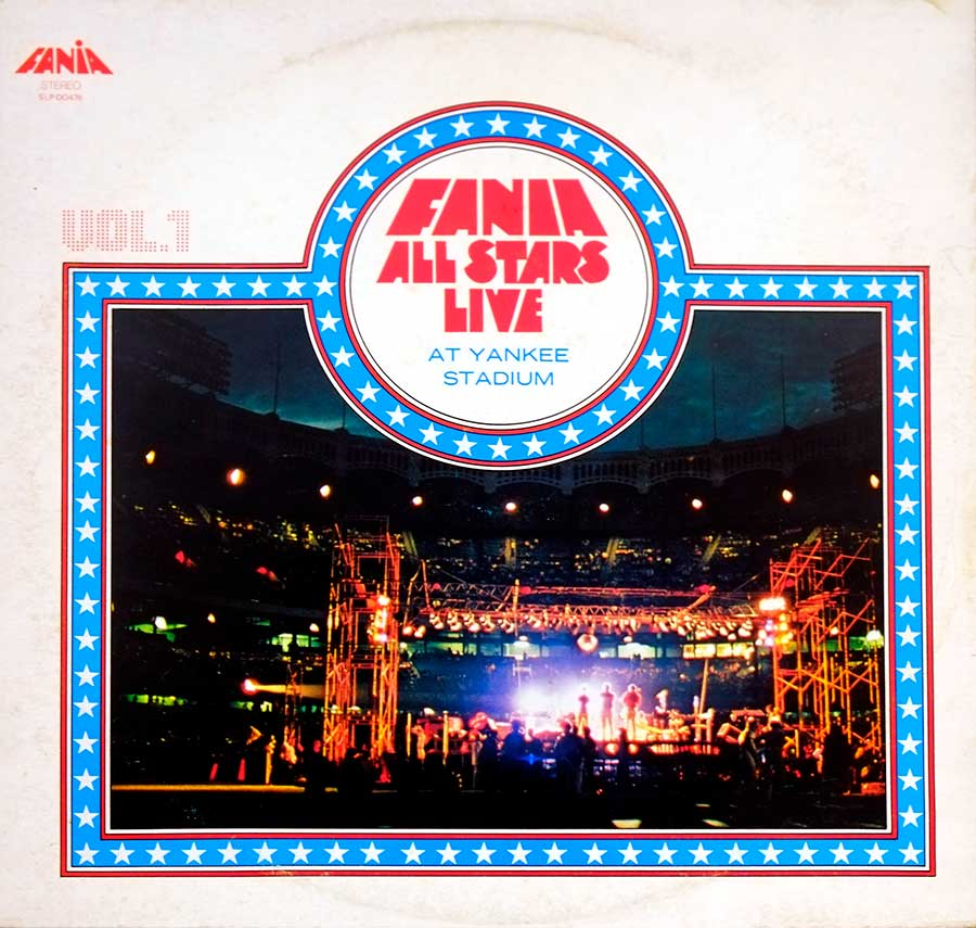 Album Front Cover Photo of FANIA ALL STARS - Live At Yankee Stadium Vol. 1