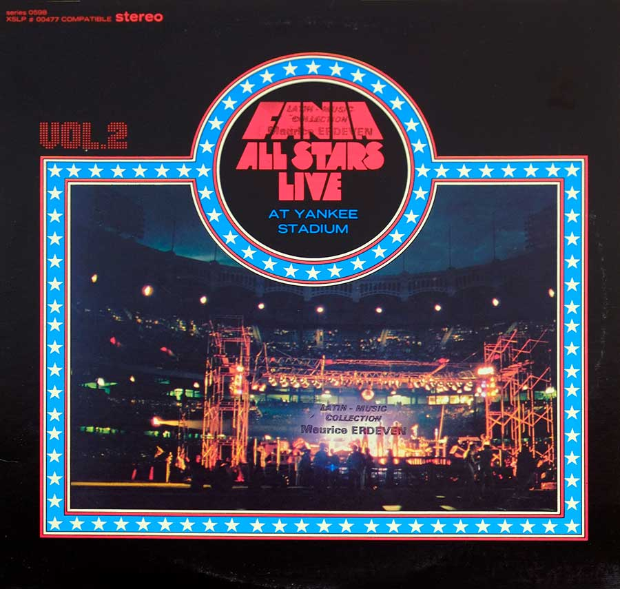 Album Front Cover Photo of FANIA ALL STARS - Live At Yankee Stadium Vol. 2 ( with Manu Dibango )