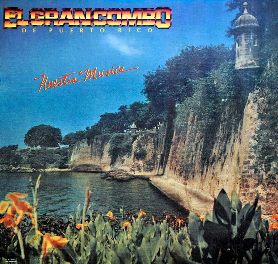 large photo of the album front cover of: GRAN COMBO DE PUERTO RICO NUESTRA MUSICA