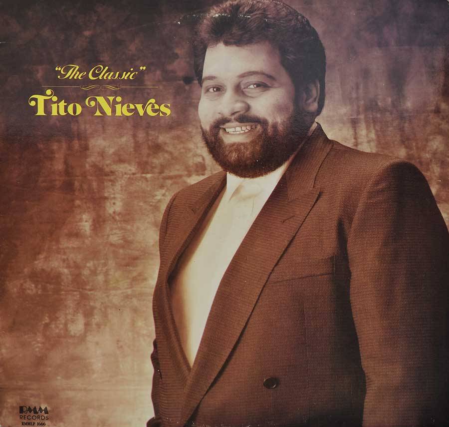 Front Cover Photo Of TITO NIEVES - The Classic Tito Nieves