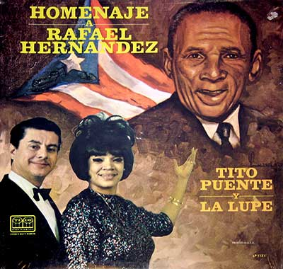 "Thumbnail Of  TITO PUENTE y La Lupe (Guadalupe Yoli) - Homenaje A Rafael Hernandez ( 12"" LP ) album front cover"