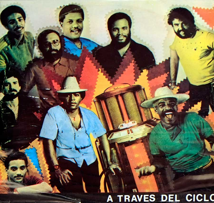 "Front Cover Photo Of TODOS ESTRELLAS - A Traves Del Ciclo 12"" LP VINYL ALBUM"