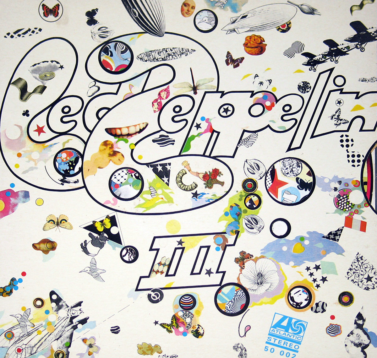 High Resolution Photo #1 LED ZEPPELIN III France Spinning Wheel