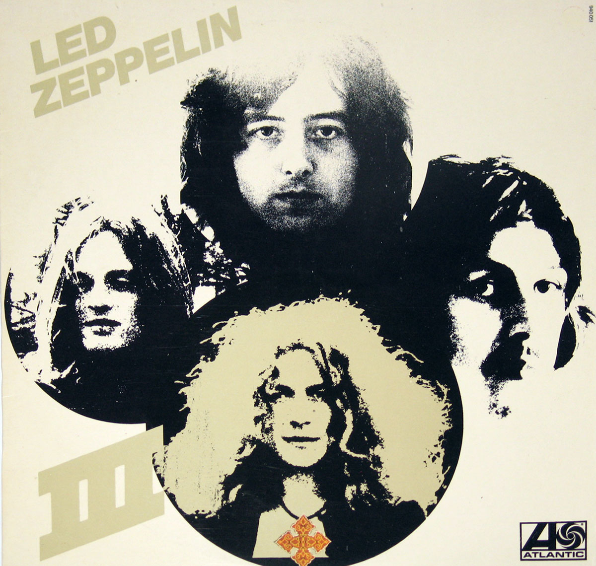 High Resolution Photo of Led Zeppelin III France Release