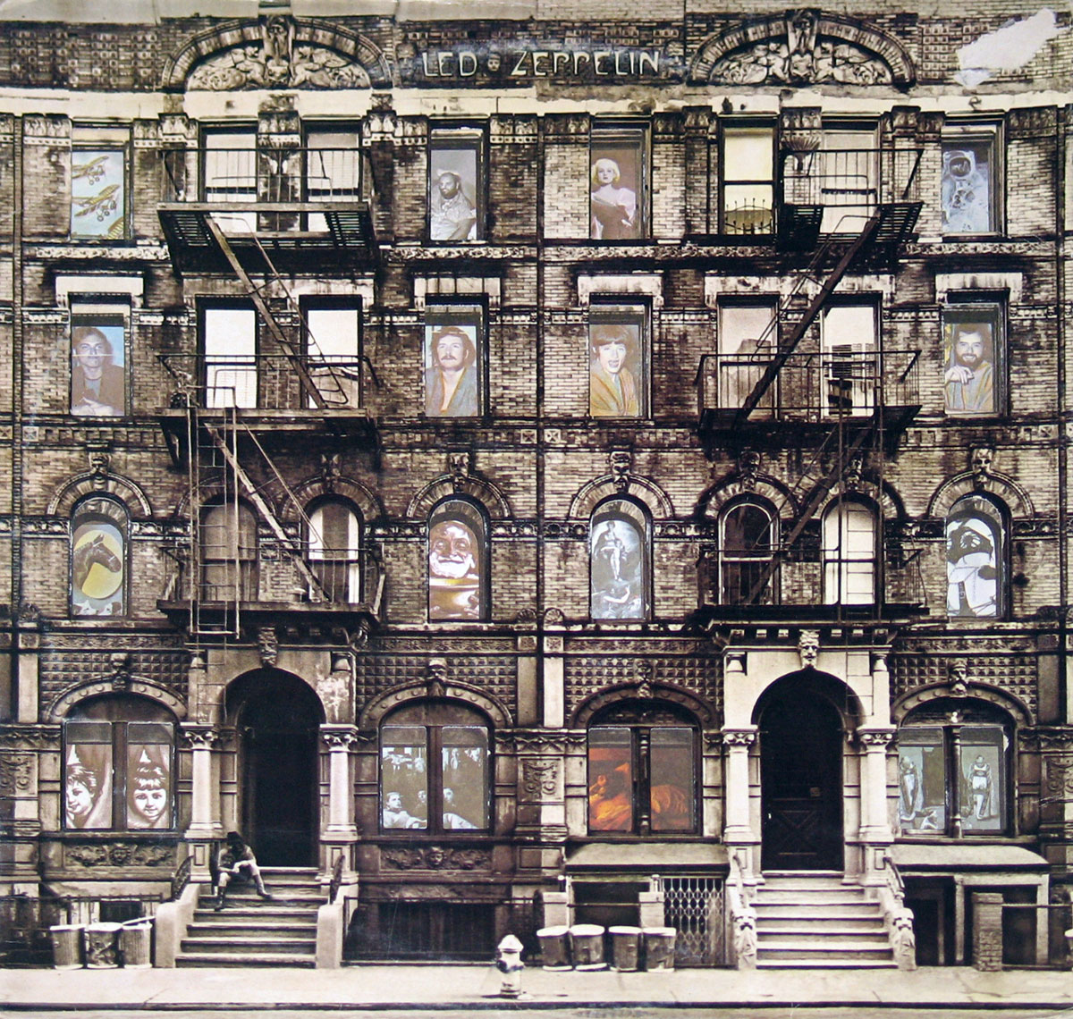 High Resolution Photo of Led Zeppelin Physical Graffiti France