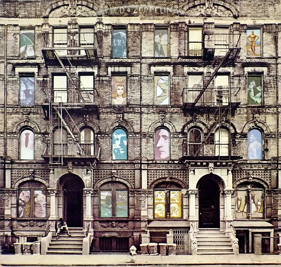 "Front Cover Photo Of LED ZEPPELIN - Physical Graffiti DOUBLE 12"" 2LP ALBUM VINYL"