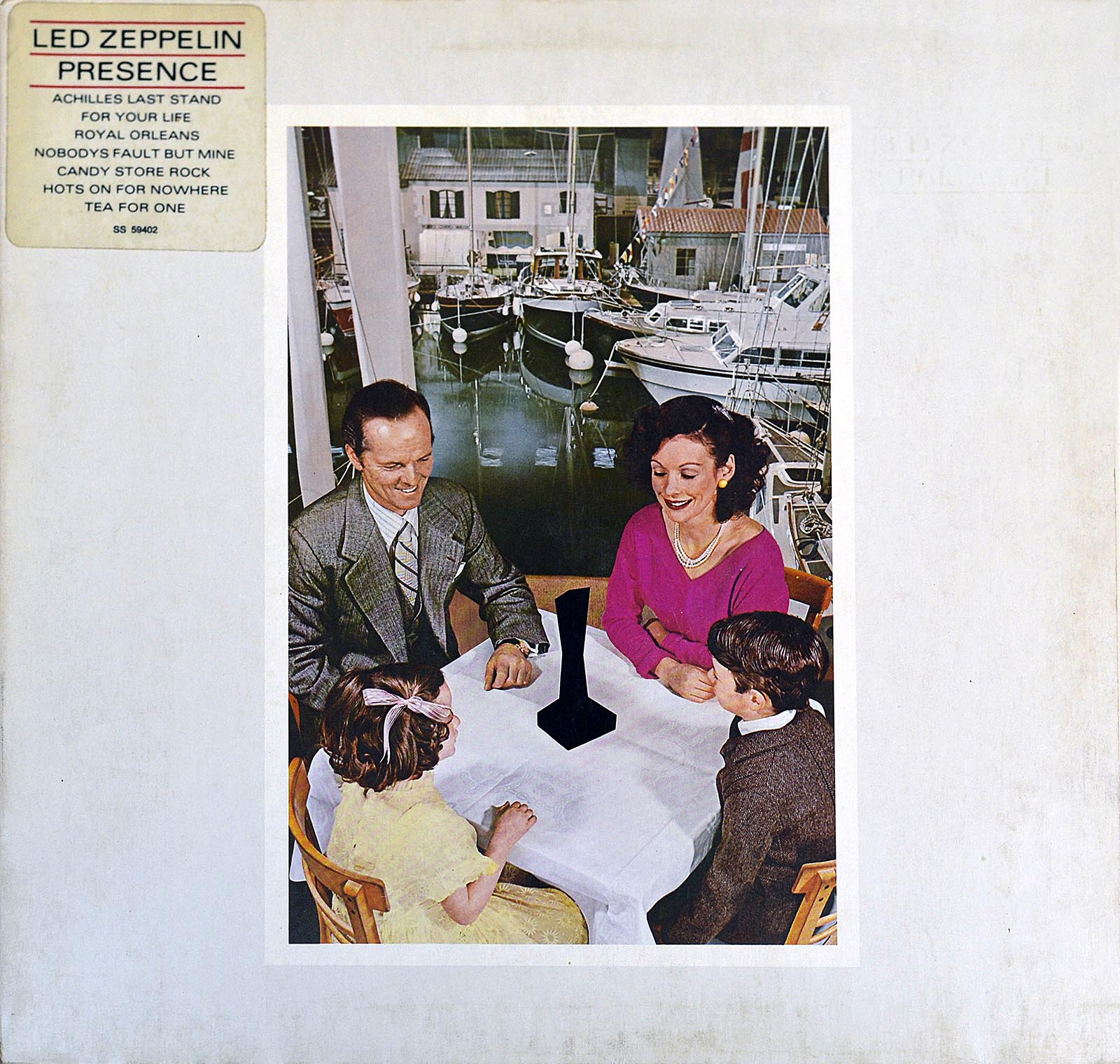 Album Front Cover Photo of LED ZEPPELIN - Presence