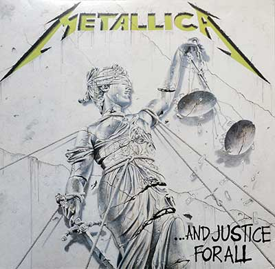Picture Of METALLICA - And Justice For All Blackened Records 180Gr Vinyl album front cover