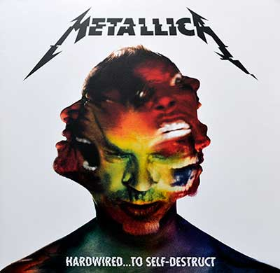 Picture Of METALLICA - Hardwired to Self Destruct ( Blackened Records )  album front cover