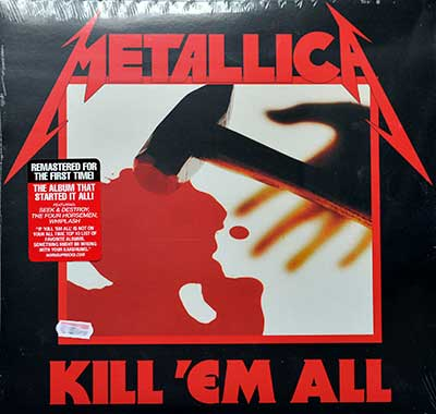 Picture Of METALLICA - Kill 'Em All ( Blackened Records )  album front cover