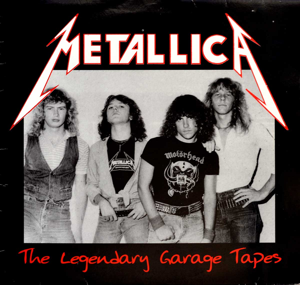 Album Front Cover Photo of METALLICA - The legendary Garage Tapes ( Unofficial Record )