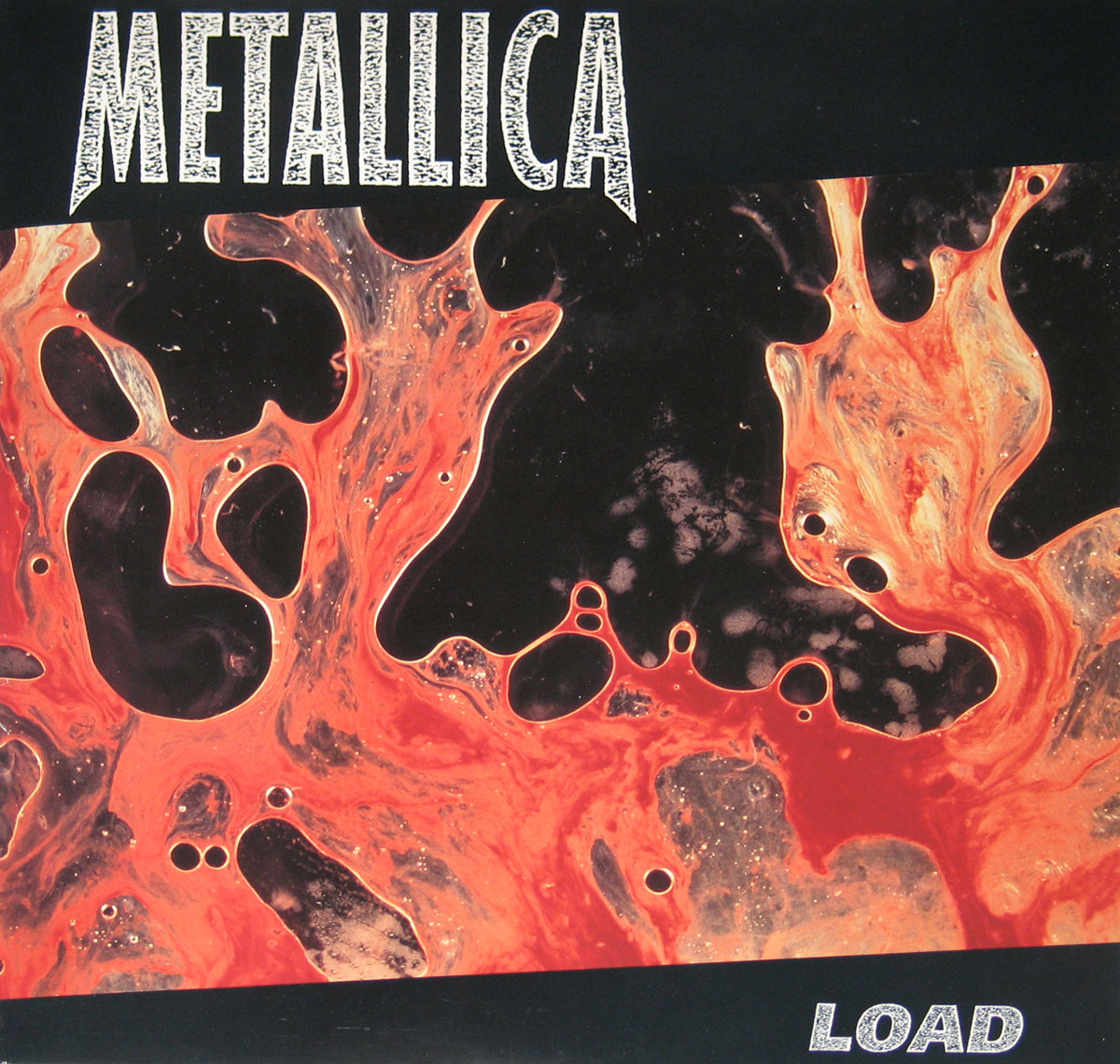 High Resolution Photo of Metallica Load 2LP