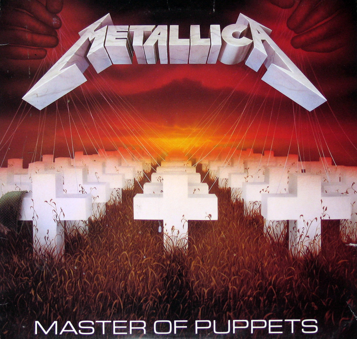 High Resolution Photo of metallica master puppets audiophile edition