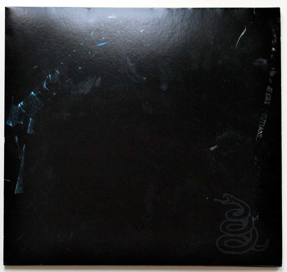 Front Cover Photo Of METALLICA The Black Album 2LP 180 Grams Audiophile Blackened Records