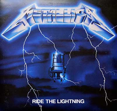Picture Of METALLICA - Ride The Lightning Blackened Records album front cover