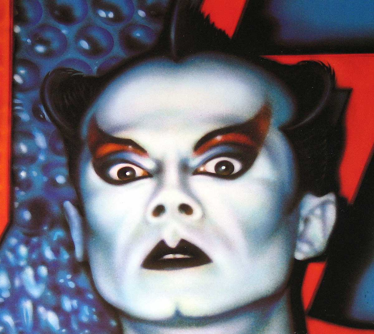 large photo of the album front cover of: KLAUS NOMI
