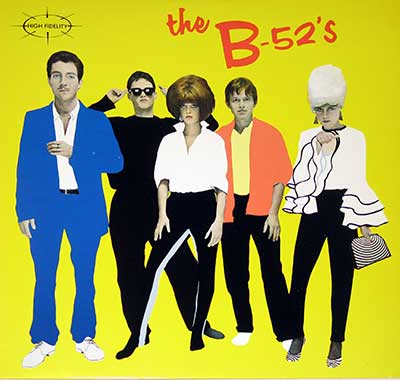 "Thumbnail Of  B-52's - Self-Titled ( USA ) 12"" VINYL LP album front cover"