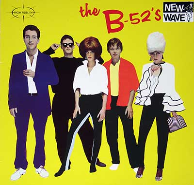 "Thumbnail Of  B-52's - Self-Titled ( Germany ) 12"" VINYL LP album front cover"