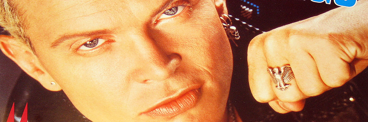 Album Front Cover Photo of Billy Idol Songs ( 11 of the Best )