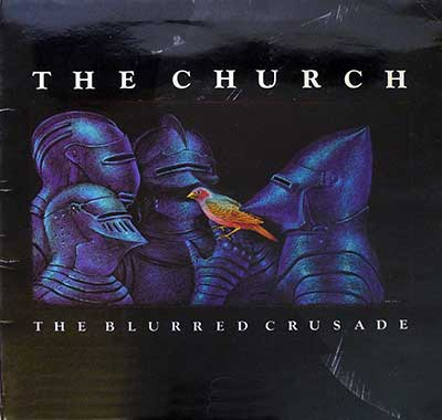 THE CHURCH THE BLURRED CRUSADE France thumbnail of the album cover