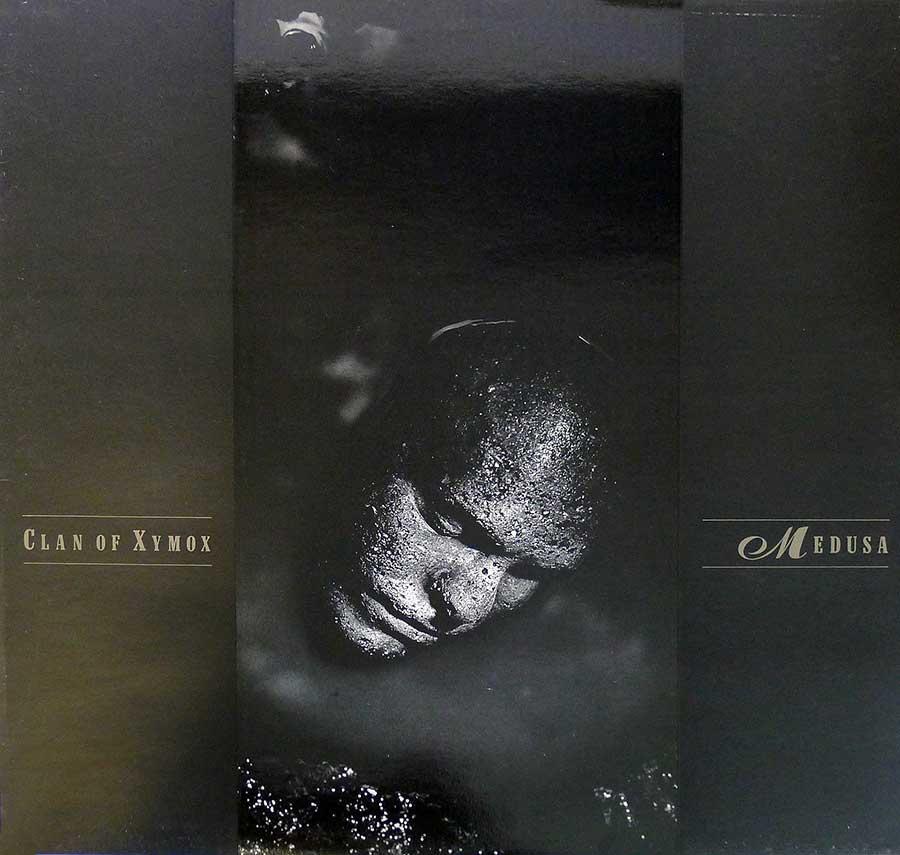"CLAN OF XYMOX - Medusa 12"" LP Vinyl Album front cover https://vinyl-records.nl"