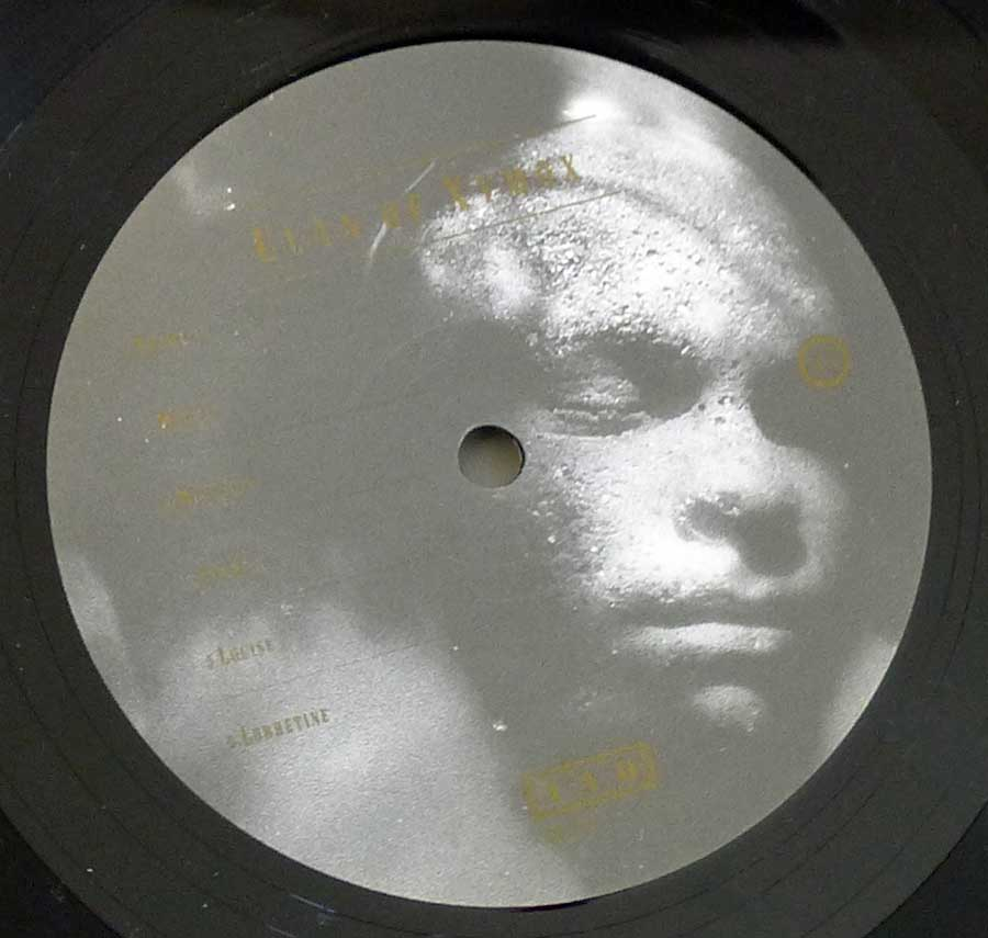 "Close up of Side One record's label CLAN OF XYMOX - Medusa 12"" LP Vinyl Album"