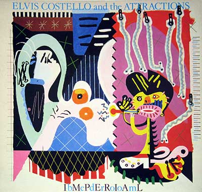 "Thumbnail of ELVIS COSTELLO & THE ATTRACTIONS - ibMePdErRoIoAmL (imperial Bedroom) 12"" Vinyl LP Album  album front cover"